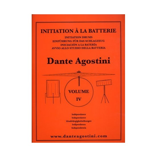 Agostini Méthode de Batterie Vol.4