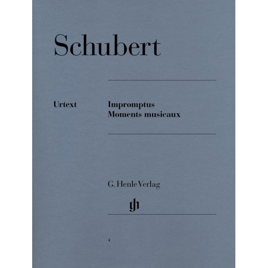 Franz Schubert : Impromptus et Moments Musicaux