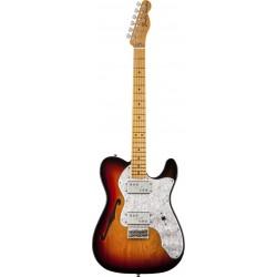 Fender Classic Series '72 Telecaster Thinline 3-Color Sunburst