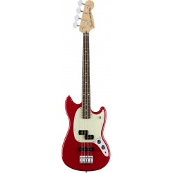 Fender Offset Mustang Bass PJ PF Torino Red