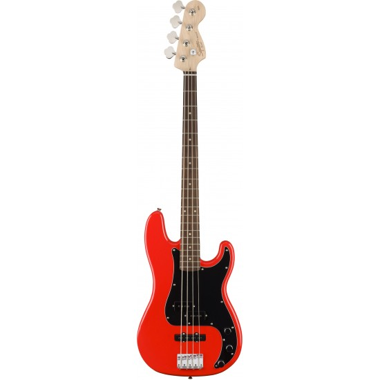 Squier Affinity Series Precision Bass PJ Rosewood Fingerboard Race Red