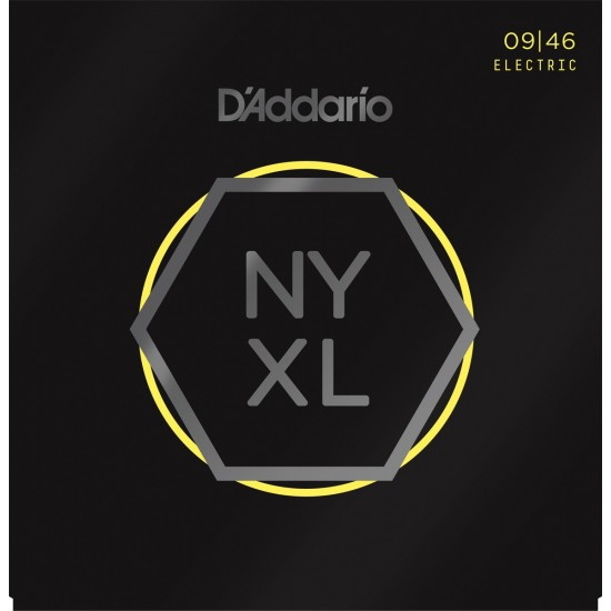 D'Addario NYXL Nickel Wound 9-46 Cordes Guitare Electrique
