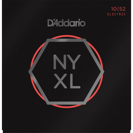D'Addario NYXL Nickel Wound 10-52 Cordes Guitare Electrique