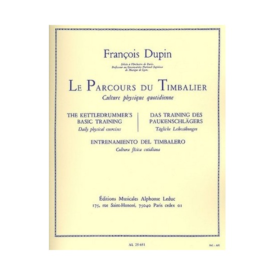 François Dupin : Le Parcours du Timbalier