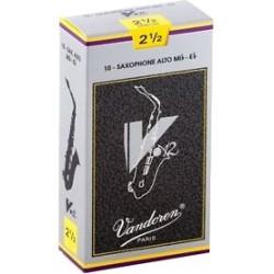 Vandoren SR6125 Anches V12 Saxo Alto 2.5