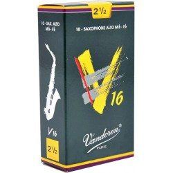 Vandoren SR7025 Anches V16 Saxo Alto 2.5