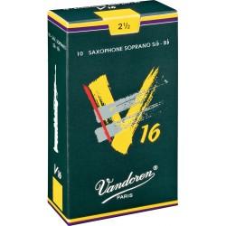 Vandoren SR7125 Anches V16 Saxo Soprano 2.5