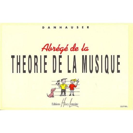 Danhauser Adolphe : Abrégé de la Théorie