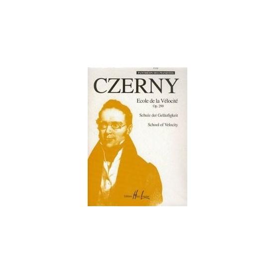 Czerny Carl : École de la vélocité Op.299