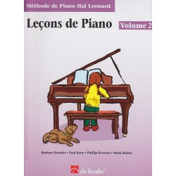 Méthode de Piano Hal Leonard : Leçons de Piano Volume 2 + CD