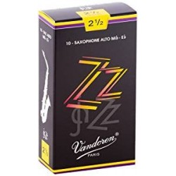 Vandoren SR4125 Anches ZZ Saxo Alto 2.5