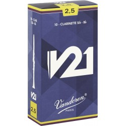 Vandoren CR8025 Anches V21 Clarinette 2.5