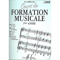 Promo Labrousse Marguerite : Cours de formation musicale Vol.5