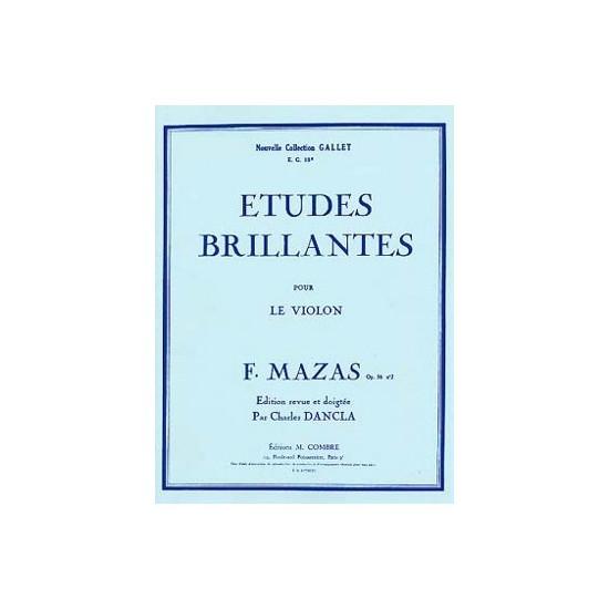 Jacques-Féréol Mazas : Etudes Brillantes, Op.36 N°2 Violon