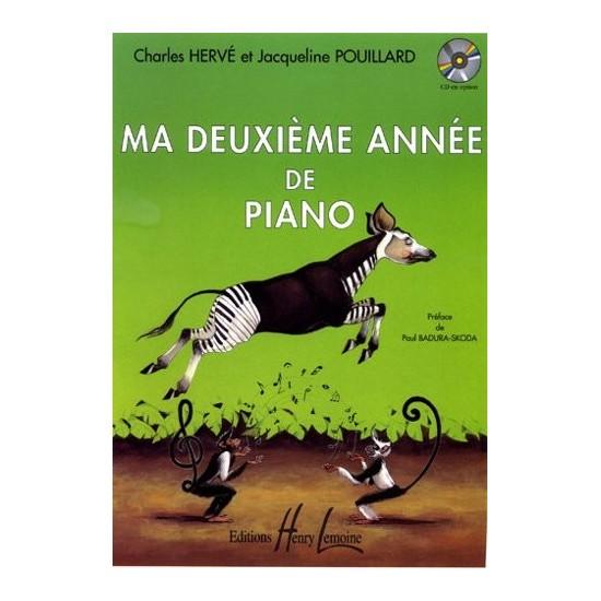 Hervé Charles, Pouillard Jacqueline : Ma Deuxième Année de Piano