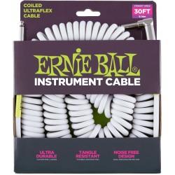 Ernie Ball Ultraflex Jack/Jack Spiralé 9M