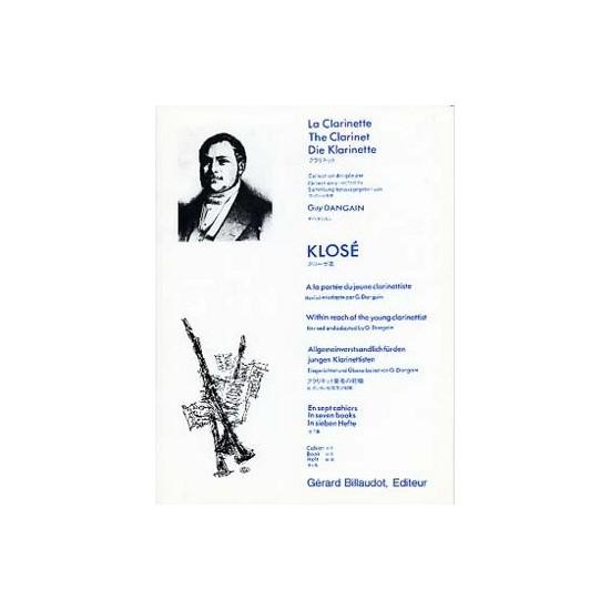 Hyacinte Klosé : A La Portée Du Jeune Clarinettiste Volume 4