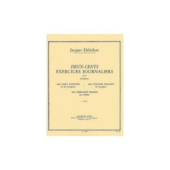 Jacques Delécluse : 200 Exercices Journaliers 1er Recueil