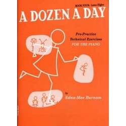 Edna-Mae Burnam : A Dozen A Day Book Four