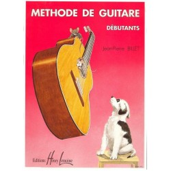 Billet Jean-Pierre : Méthode de Guitare Débutants