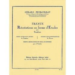 Gérard Pichaureau : Trente Récréations En Forme d'Etudes