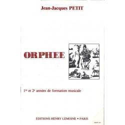 Petit Jean-Jacques : Orphée