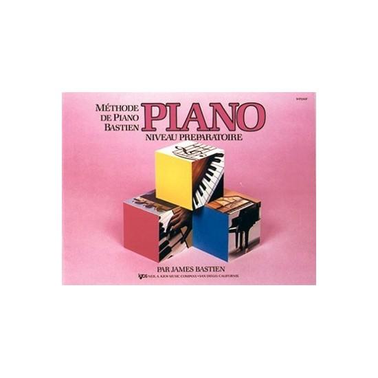 Méthode de Piano Bastien - Piano Niveau Préparatoire