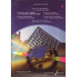 Jean-Clément Jollet : Jeux de Rythmes et Jeux de Clés Volume 6