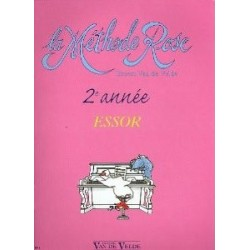 Van de Velde Ernest : Méthode Rose 2ème Année, l'Essor