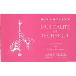 Hanse Martin Linde : Musicalité et Technique
