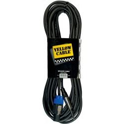 Yellow Cable HP9JS Câble Haut-Parleur Speakon/Jack 9M