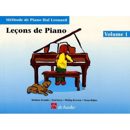 Méthode de Piano Hal Leonard : Leçons de Piano Volume 1