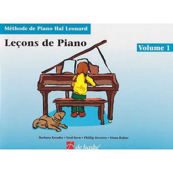 Méthode de Piano Hal Leonard : Leçons de Piano Volume 1 + CD