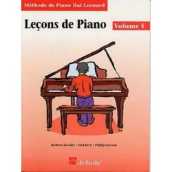 Méthode de Piano Hal Leonard : Leçons de Piano Volume 5 + CD