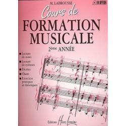 Labrousse Marguerite : Cours de formation musicale Vol.2