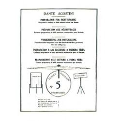 Dante Agostini : Préparation Au Déchiffrage Volume 5
