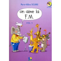 Siciliano Marie-Hélène : On aime la F.M. Vol.3