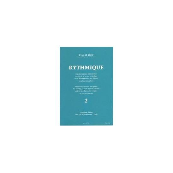 Yvon Le Prev : Rythmique Cahier 2