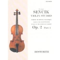 Sevcik : Opus 2 Part 4 Violon