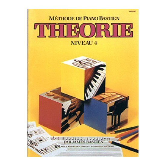 Méthode de Piano Bastien - Théorie Niveau 4