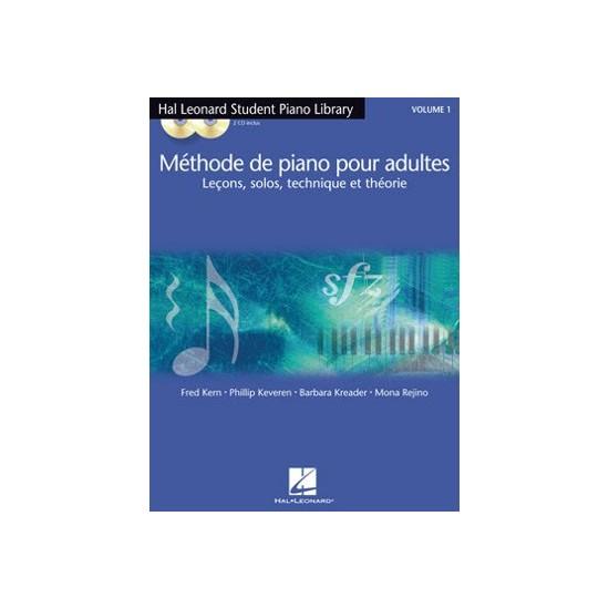Méthode de Piano Hal Leonard : Méthode de Piano Adultes