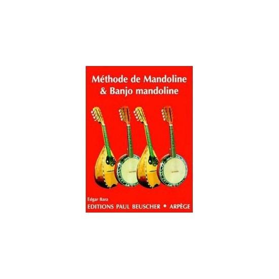 Bara Edgar : Méthode de Mandoline et Banjo Mandoline