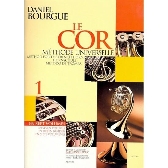 Daniel Bourgue : Le Cor Volume 1