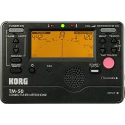 Korg TM50-BK Accordeur et Métronome