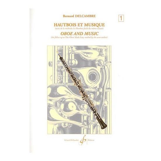 Bernard Delcambre : Hautbois et Musique Volume 1