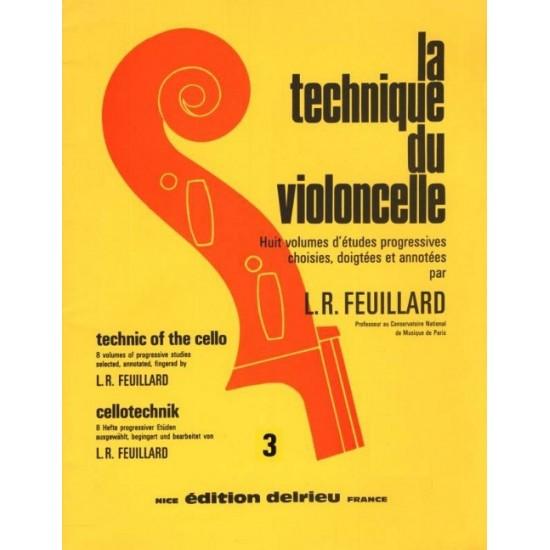 Louis R. Feuillard : La Technique du Violoncelle Vol.3