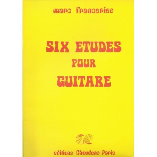 Marc Franceries : Six Etudes Pour Guitare