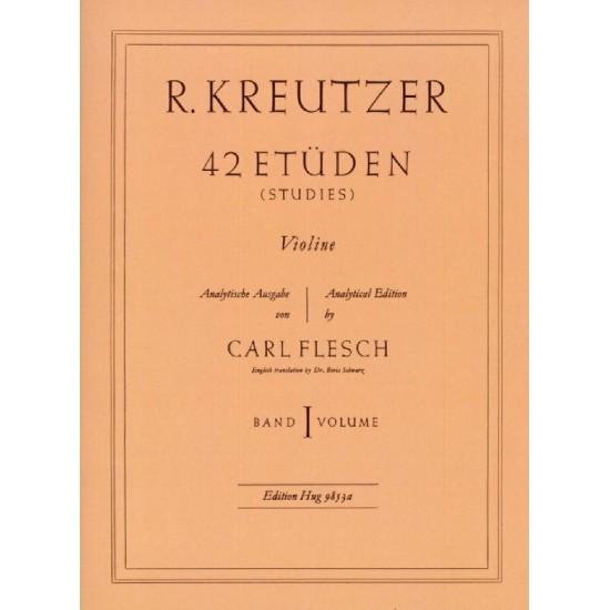 Kreutzer : 42 Etüden Volume 1 Pour Violon