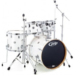PDP Concept Maple CM5 Fusion 20 Pearlescent White + Pack Hardware 900