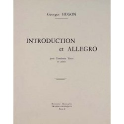 Georges Hugon : Introduction et Allegro